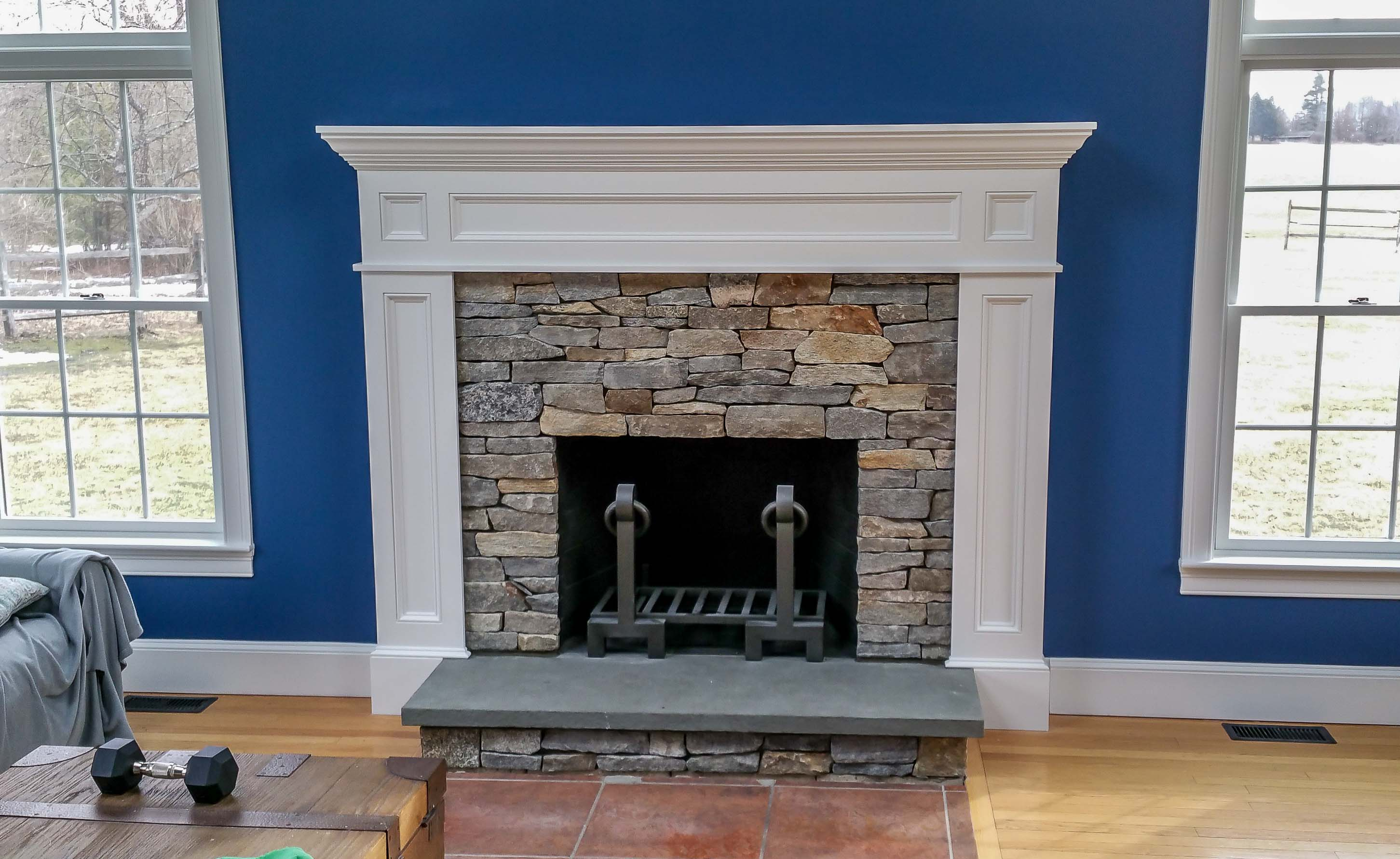 anatomy of a chimney and fireplace