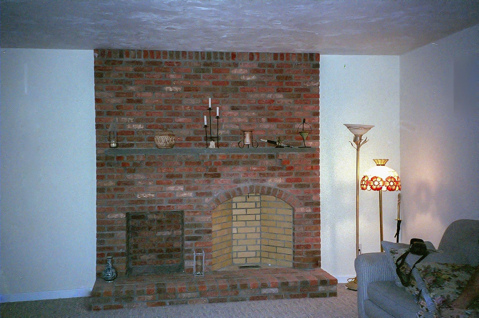 Rumford Fireplace Construction In Massachusetts