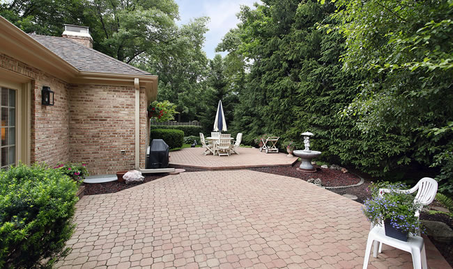 Brick Paver and Stone Patio Construction Massachusetts