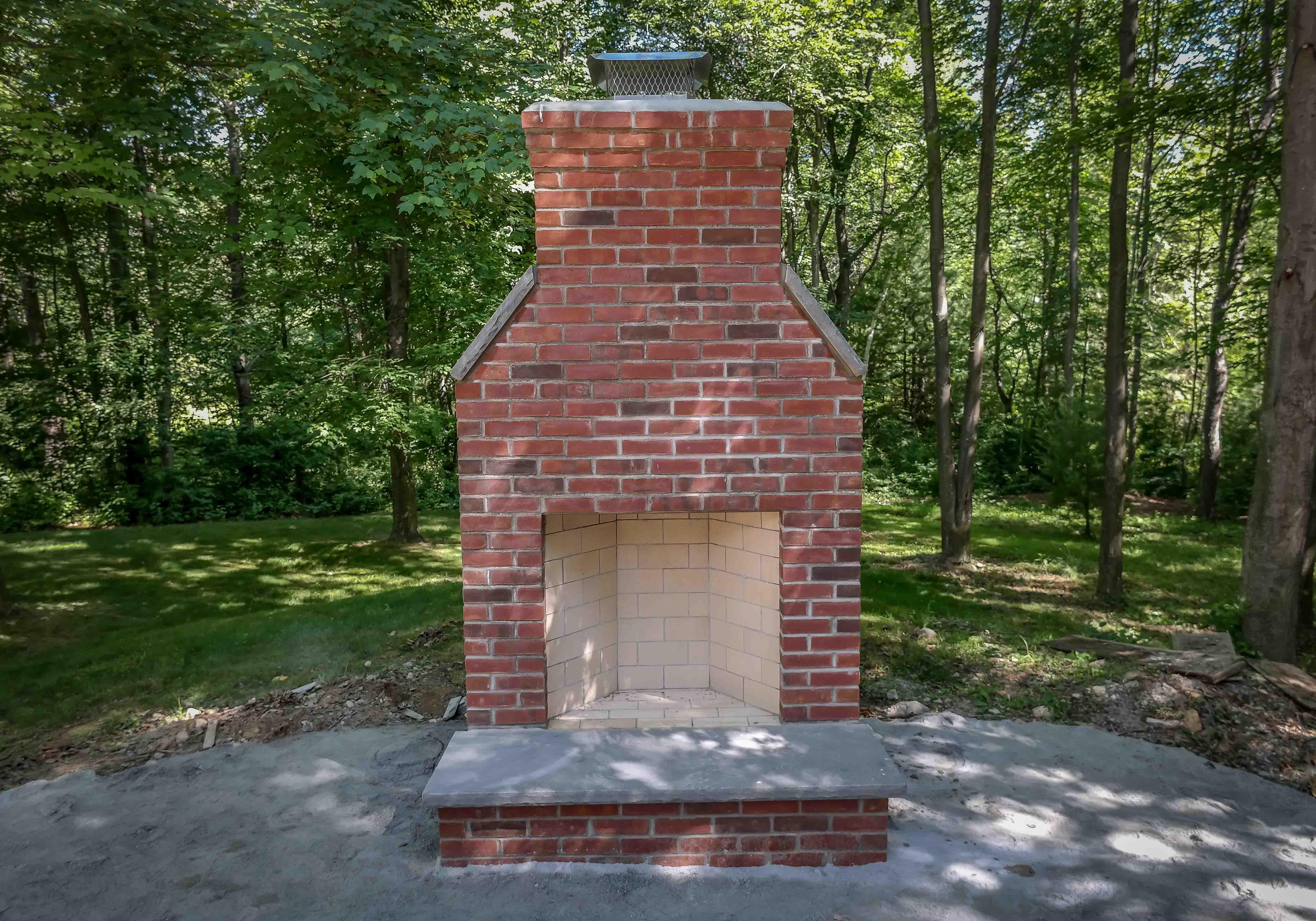 Outdoor Fireplaces in Massachusetts