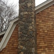 lincoln stone chimney