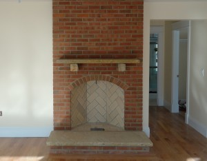 Classic Rumford Fireplace