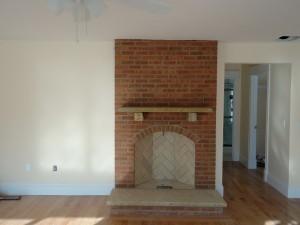 Rumford Fireplace with Glen Gery brick