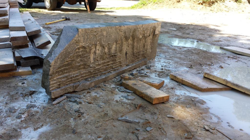 cutting stone