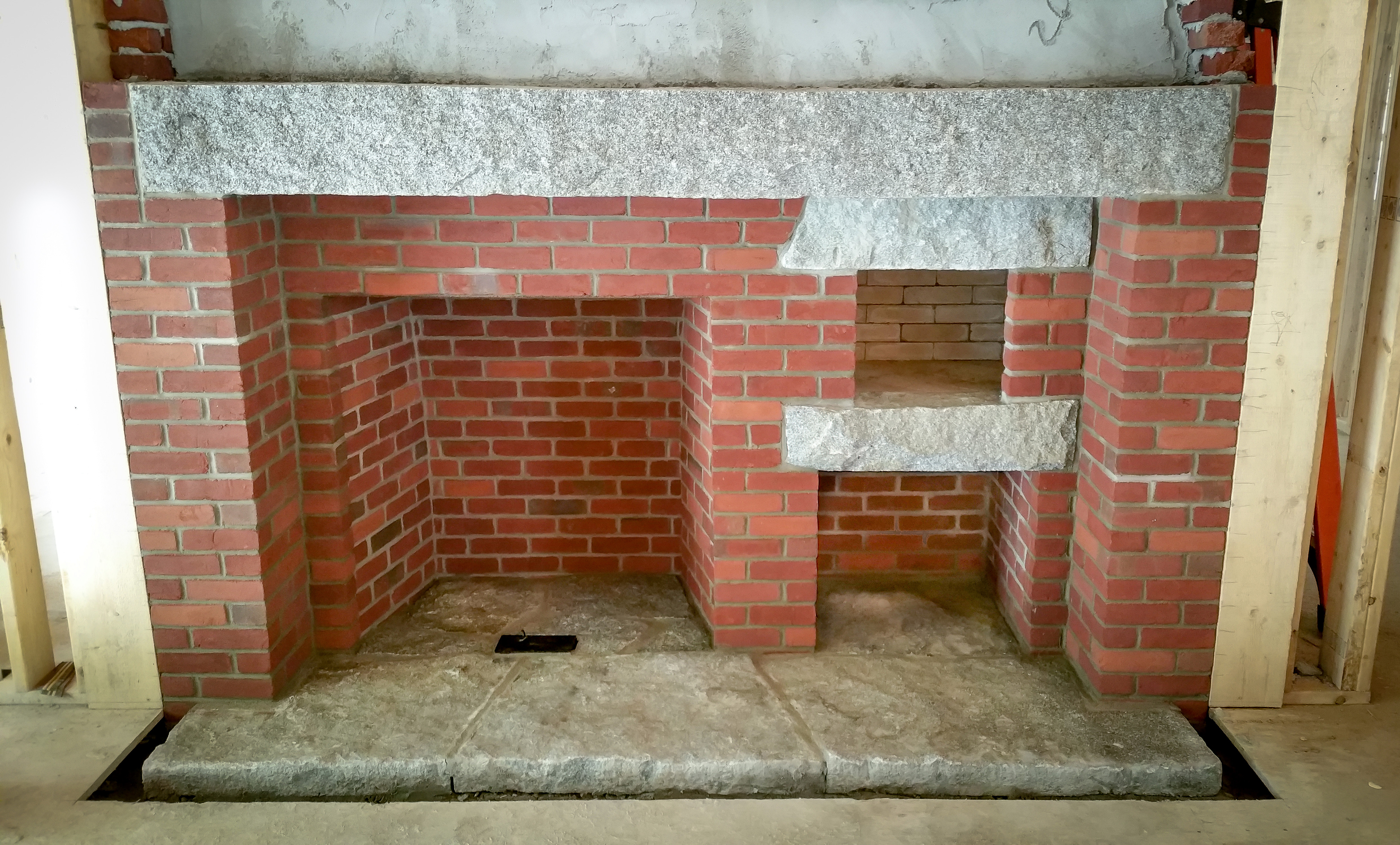 Fireplace and chimney construction contractor in massachusetts for Fireplace chimney construction
