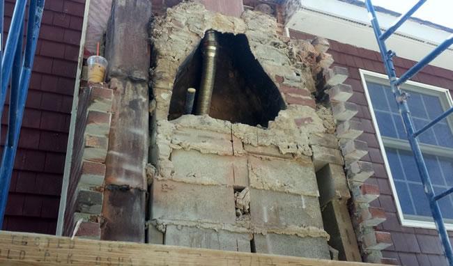 Chimney Repair in Massachusetts
