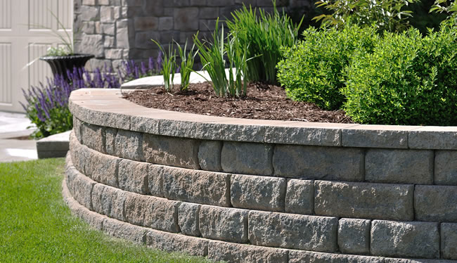 Retaining Wall Construction in Lancaster Massachusetts