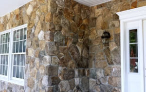 Brick and Stone Veneer Siding Installations