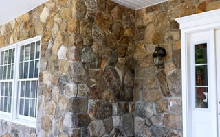 Brick and Stone Veneer Siding Installations