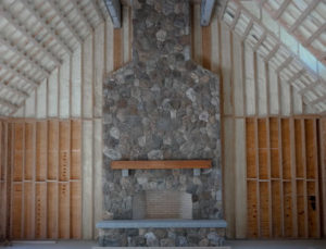 Fireplace After Stonework