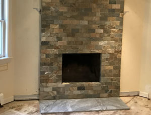 Fireplace Makeover After Photo