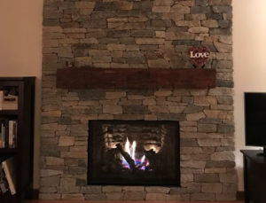 Fireplace Makeover After